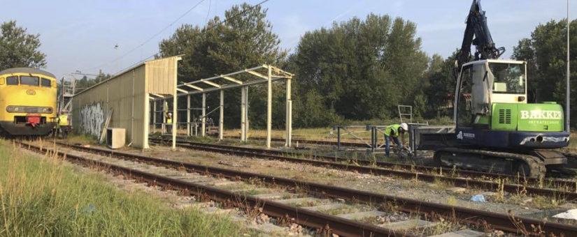 Smeerput station Haarlem verwijderd