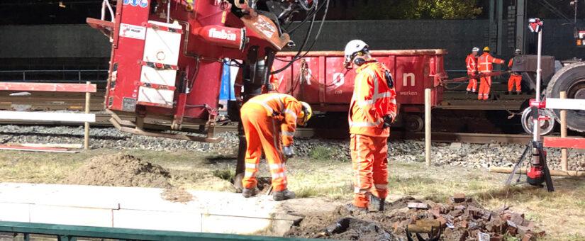 Vervangen drainage spoorviaduct Breda