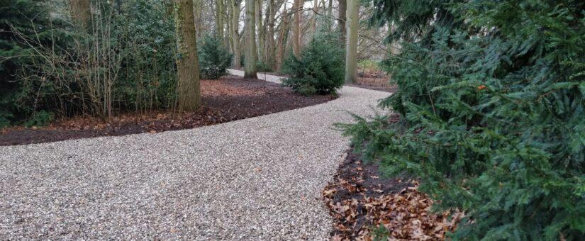 Aanleg nieuwe toegangsweg Landgoed 't Haveke